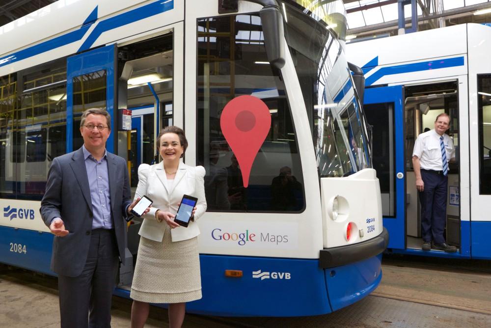 Google Maps en Google Now uitgebreid met actuele OV-informatie