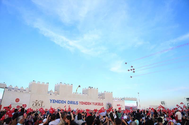 Massale viering verovering Istanbul tijd voor het nieuwe Turkije (5)