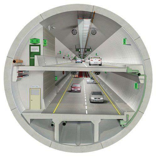 Turkije rondt modernste snelwegtunnel ter wereld bijna jaar eerder af 2