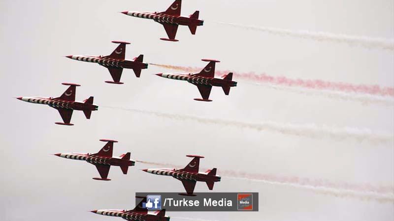 Veel belangstelling voor Turkse piloten in Nederland