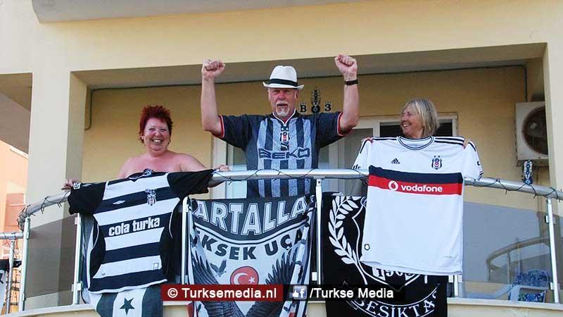 Brit gek op Beşiktaş emigreert naar Turkije