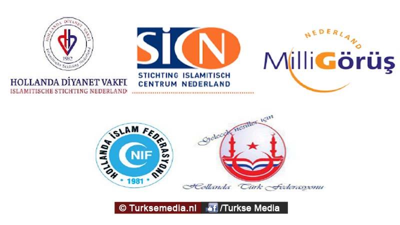 Turks-Nederlandse Islamitische organisaties reageren gezamenlijk op couppoging
