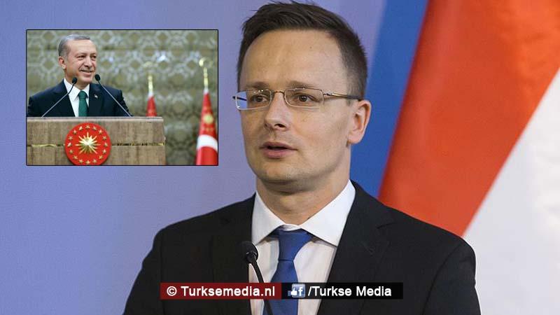 Hongarije Toon respect voor Turkije