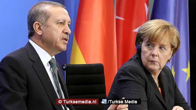 Merkel Zonder Turkije onmogelijk