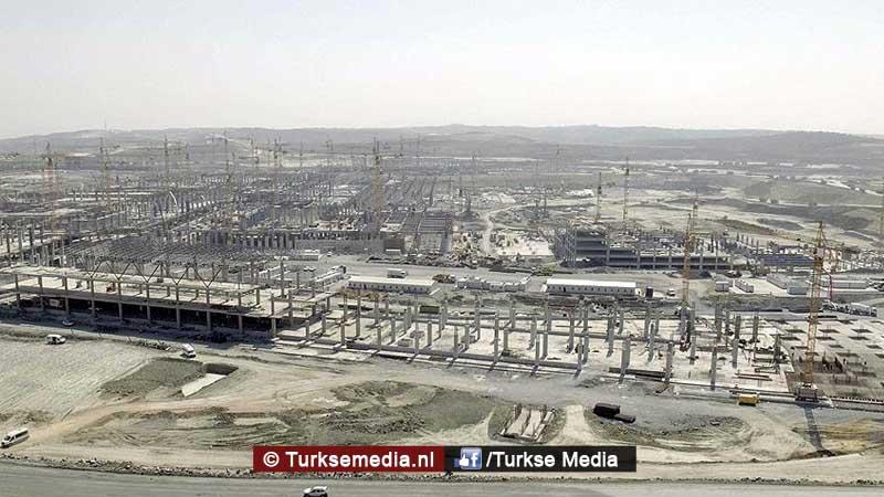 Turkije bouwt keihard verder aan grootste luchthaven ter wereld