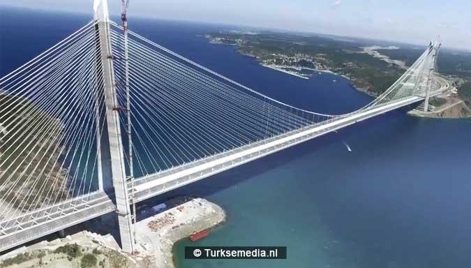 Turkije opent breedste brug ter wereld