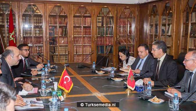 Turkse delegatie naar broederland Marokko (3)