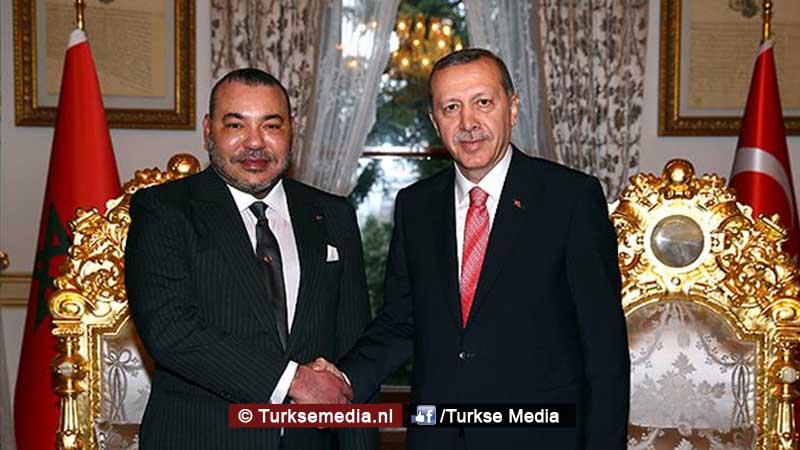 Turkse delegatie naar broederland Marokko