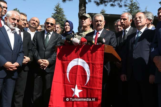 Turkse premier maakt duidelijk wie achter aanslag Elazığ zit (3)