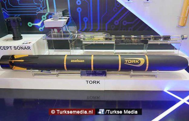 Turkije toont nieuwe torpedo's aan de wereld