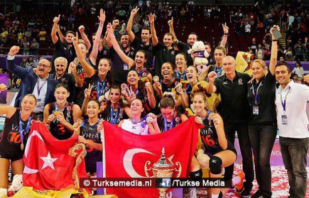 Turkse volleybalclub opnieuw wereldkampioen