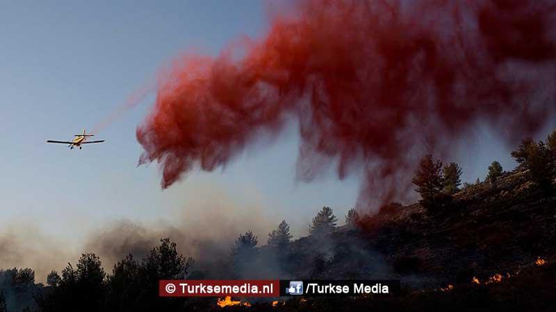 israel-vraagt-turkije-om-hulp-wegens-bosbranden