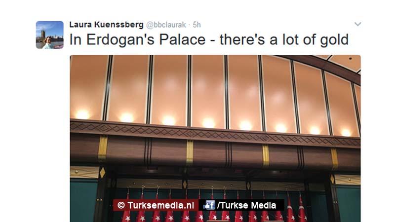 BBC-verslaggeefster flink gedist in Turkije 111
