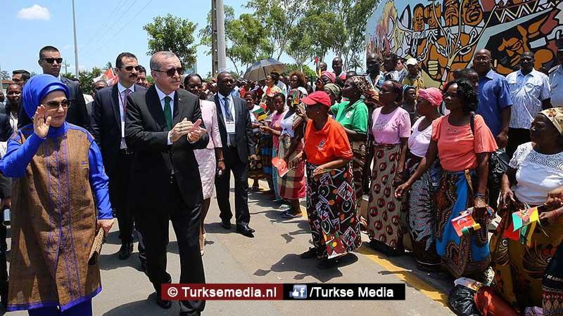 Erdoğan enige Turkse leider die 23 Afrikaanse landen bezoekt