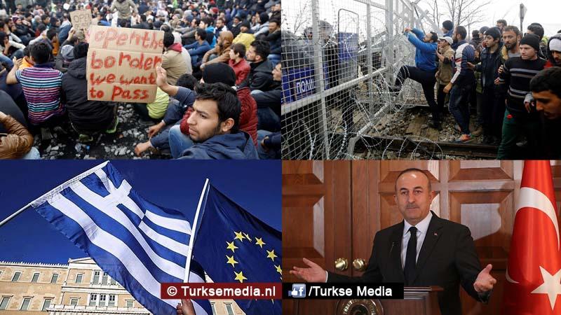 Europa in paniek nu Turkije hard terugslaat na Grieks besluit