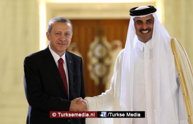 Kassa voor Turkije: Arabieren gaan 100 miljard dollar investeren
