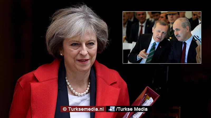 Lachwekkend Engelse media doorgedraaid wegens Turkije-bezoek premier May