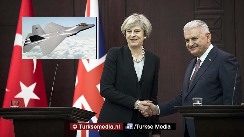 Turkije en Verenigd Koninkrijk gaan samen nieuwe straaljagers ontwikkelen
