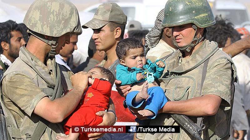 Turkije vangt nog steeds meeste vluchtelingen op ter wereld