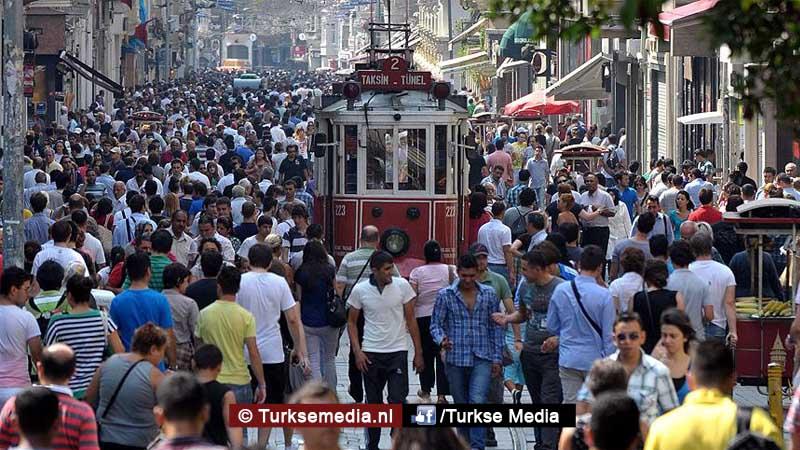 Turkse bevolking groeit harder aantal bereikt 80 miljoen