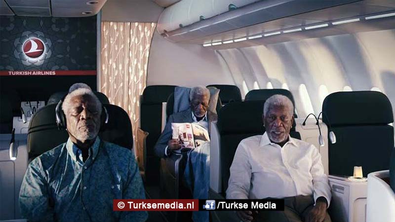 Commercial Turkish Airlines Morgan Freeman enorm succes