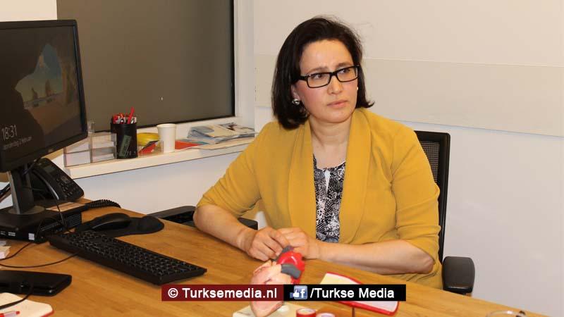 Een Turks hart in Amsterdam ontmoet hartspecialist Hacer Sen