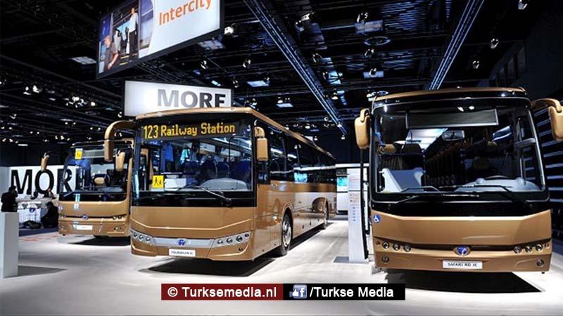 Frankrijk neemt meer Turkse bussen in gebruik