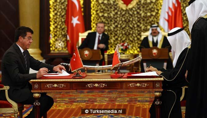 Turkije en Bahrein tekenen meerdere verdragen 'Moslims, verenig' 2