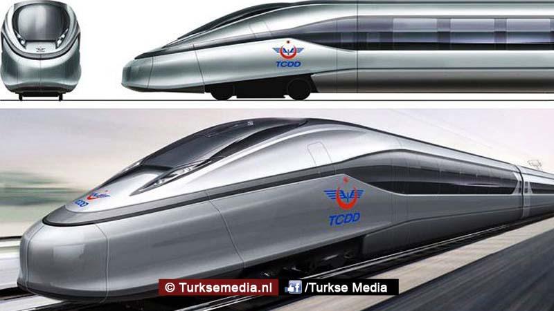 Turkije gaat eigen hogesnelheidstreinen bouwen
