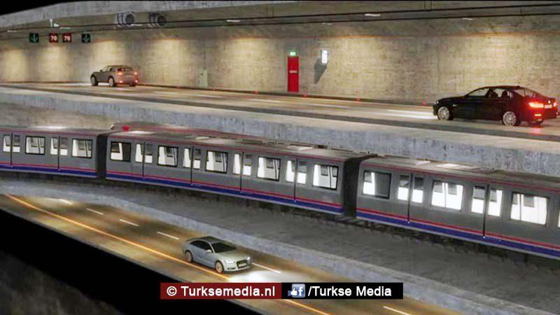 Turkije gaat grootste tunnel ter wereld bouwen - Turkse Media