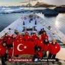 Turkije klaar voor eerste laboratorium en vlag op Antarctica