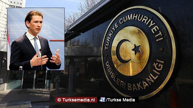 Turkije reageert woedend op Oostenrijk