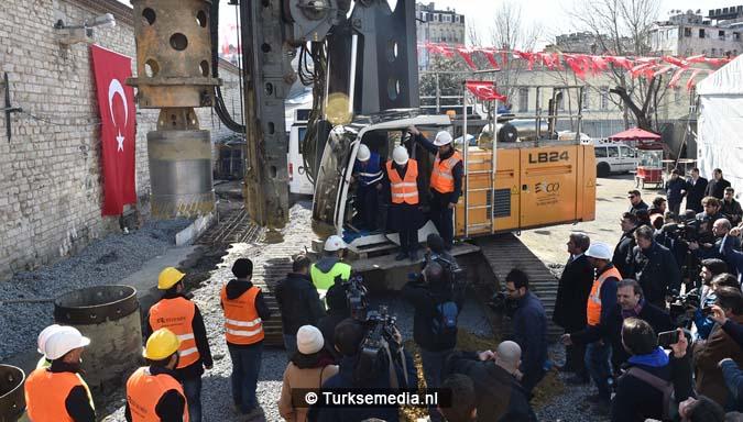 Turkije start bouw langverwachte moskee op Taksimplein5