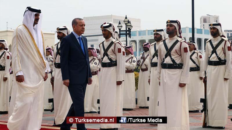 Turkije zet Qatar in lijst echte trouwe bondgenoten