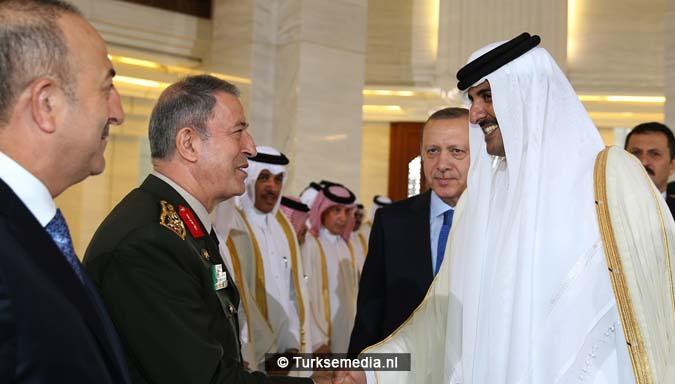 Turkije zet Qatar in lijst echte trouwe bondgenoten2