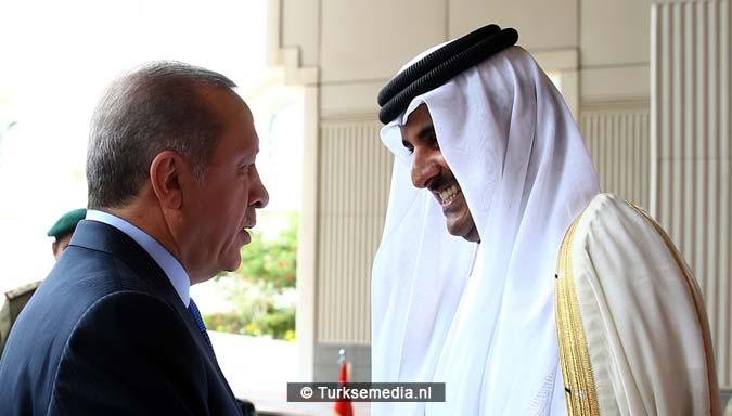 Turkije zet Qatar in lijst echte trouwe bondgenoten5