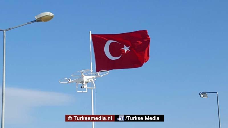 Voortaan niet geflitst, maar gedroned in Turkse stad