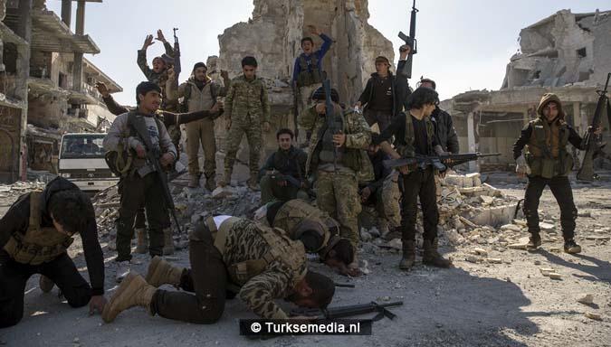 Zo vieren Syriërs de Turkse victorie op Daesh (IS)7
