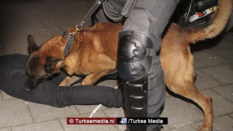 Door politiehond gebeten Turkse Nederlander gebeurtenissen pijnlijk