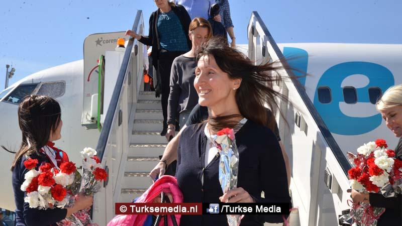 Eerste golf Zweedse toeristen media praten onzin over Turkije (foto's)