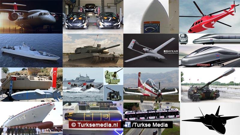 Enorme stap Turkije dit gaan Turken produceren