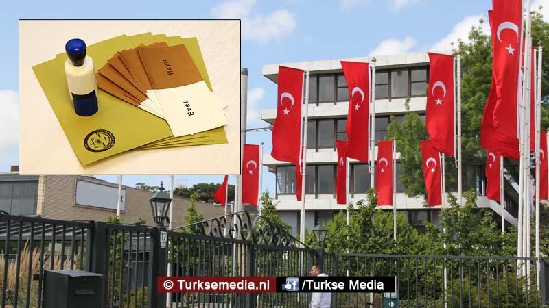 Hier gaan Turken in Nederland stemmen voor het Turks referendum