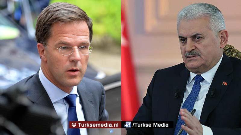 Rutte zegt sorry tegen Turkije om vastzetten consul
