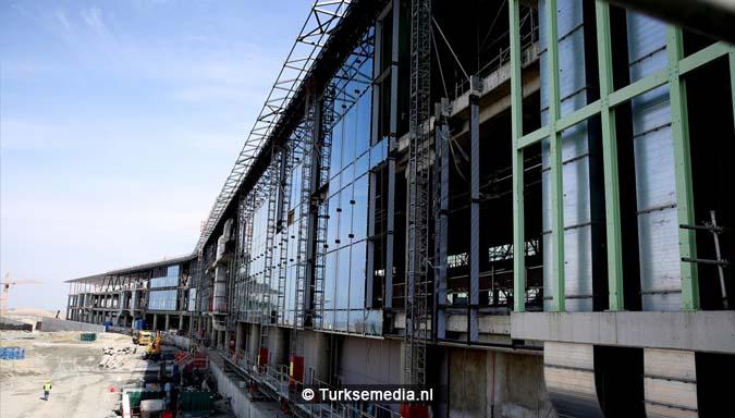 Turken bouwen keihard aan grootste megavliegveld terminal bijna klaar1