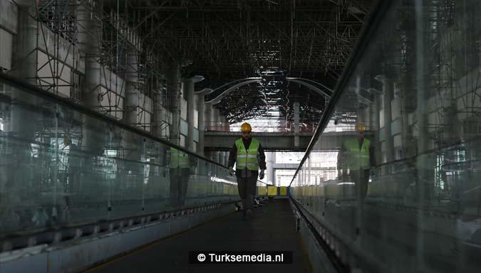 Turken bouwen keihard aan grootste megavliegveld terminal bijna klaar6
