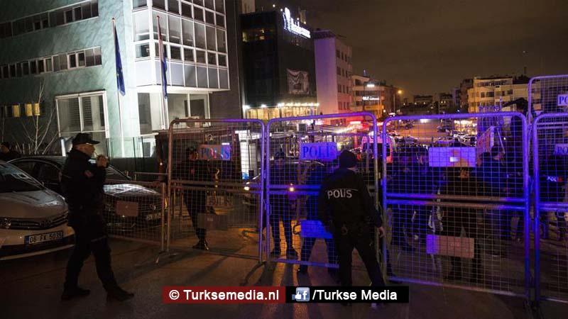 Turkije reageert Nederlandse ambassadeur niet welkom, wegen consulaat en ambtshuis Nederland Istanbul gesloten