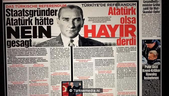 Turkije reageert op neeactie Duitse krant Bild2