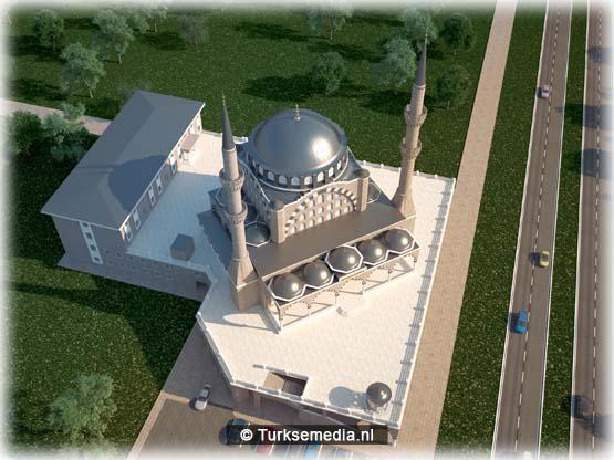 Türkiye Diyanet Vakfı (TDV) tarafından Makedonya'nın başkenti Üsküp'te inşa edilecek Tophane Merkez Camisi'nin inşaatı için ilk adımlar atıldı. ( KOMAŞ AŞ - Anadolu Ajansı )