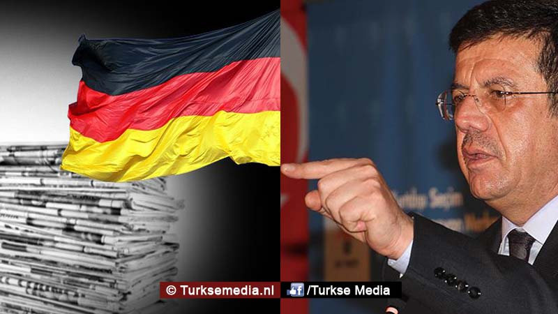 Turkse minister sleept Duitse krant voor de rechter2