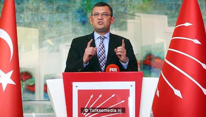 Turkse oppositiepartij CHP uit ook felle kritiek op hypocrisie en censuur Duitsland